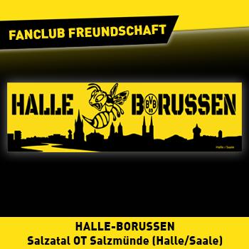 Fanclub Freundschaft: Möhnetal Borussen - Halle-Borussen (Halle/Saale)